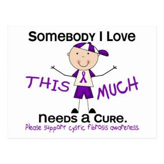 Somebody I Love - Cystic Fibrosis (Boy) Postcard
