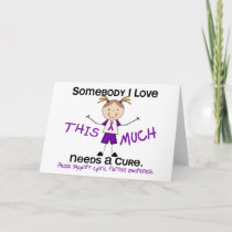Somebody I Love - Cystic Fibrosis (Girl) Card