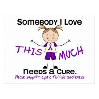 Somebody I Love - Cystic Fibrosis (Girl) Postcard