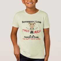 Somebody I Love - Diabetes (Girl) T-Shirt