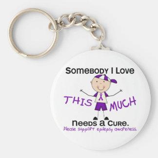 Somebody I Love - Epilepsy (Boy) Keychain