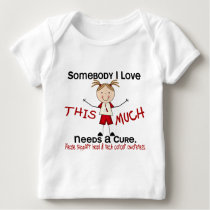 Somebody I Love - Head and Neck Cancer (Girl) Baby T-Shirt
