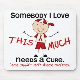 Somebody I Love - Heart Disease (Boy) Mouse Pad