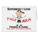 Somebody I Love - Juvenile Diabetes (Boy) Greeting Card
