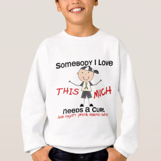 Somebody I Love - Juvenile Diabetes (Boy) Sweatshirt