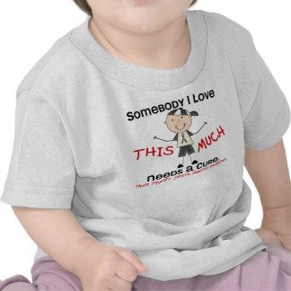 Somebody I Love - Juvenile Diabetes (Boy) Tshirt