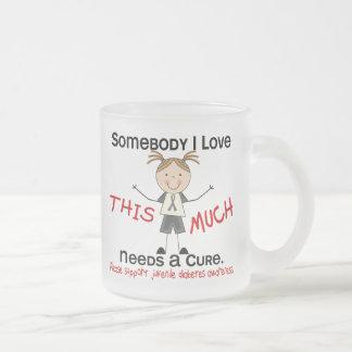 Somebody I Love - Juvenile Diabetes (Girl) Mugs