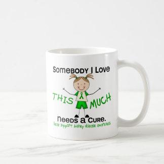 Somebody I Love - Kidney Disease (Girl) Coffee Mug