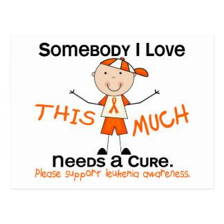 Somebody I Love - Leukemia (Boy) Postcards