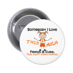 Somebody I Love - Leukemia (Girl) Buttons