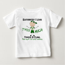 Somebody I Love - Liver Cancer (Boy) Baby T-Shirt