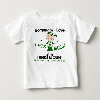 Somebody I Love - Liver Cancer (Boy) Baby T-Shirt