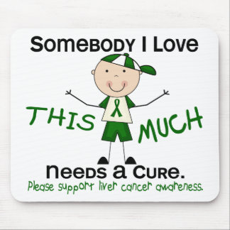 Somebody I Love - Liver Cancer (Boy) Mouse Pad