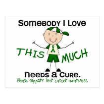 Somebody I Love - Liver Cancer (Boy) Postcard