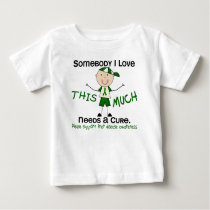 Somebody I Love - Liver Disease (Boy) Baby T-Shirt