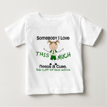 Somebody I Love - Liver Disease (Girl) Baby T-Shirt