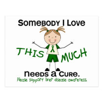 Somebody I Love - Liver Disease (Girl) Postcard