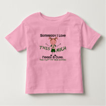 Somebody I Love - Liver Disease (Girl) Toddler T-shirt