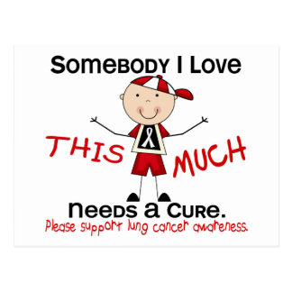 Somebody I Love - Lung Cancer (Boy) Post Card