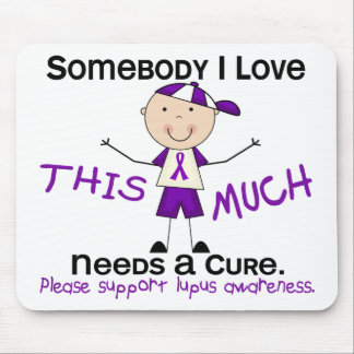 Somebody I Love - Lupus (Boy) Mouse Pad