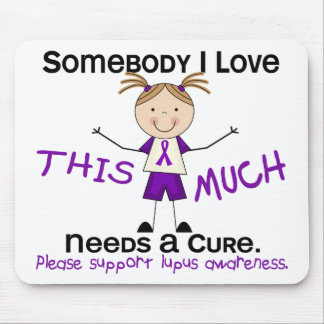 Somebody I Love - Lupus (Girl) Mouse Pad