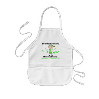 Somebody I Love - Lymphoma (Boy) Kids' Apron