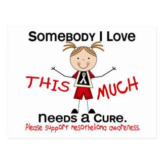 Somebody I Love - Mesothelioma (Girl) Post Cards