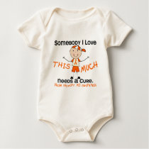 Somebody I Love - MS (Boy) Multiple Sclerosis Baby Bodysuit