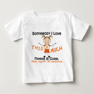 Somebody I Love - MS (Girl) Multiple Sclerosis Infant T-shirt
