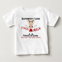 Somebody I Love - Multiple Myeloma (Girl) Baby T-Shirt