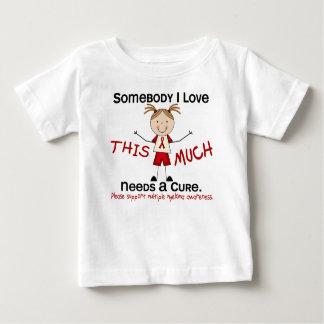 Somebody I Love - Multiple Myeloma (Girl) Tshirts