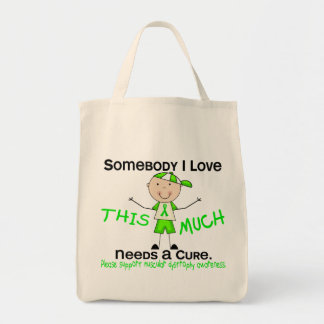 Somebody I Love - Muscular Dystrophy (Boy) Tote Bag