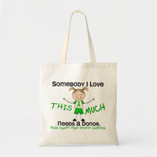 Somebody I Love - Organ Donation (Girl) Tote Bag