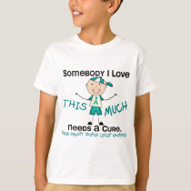 Somebody I Love - Ovarian Cancer (Boy) T-Shirt