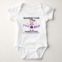 Somebody I Love - Pancreatic Cancer (Boy) Baby Bodysuit