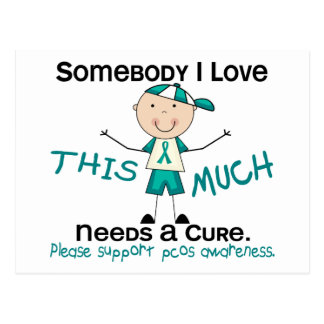 Somebody I Love - PCOS (Boy) Postcard