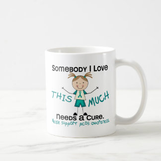 Somebody I Love - PCOS (Girl) Coffee Mug