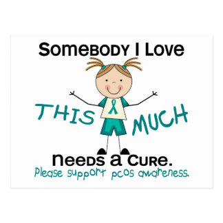 Somebody I Love - PCOS (Girl) Postcard