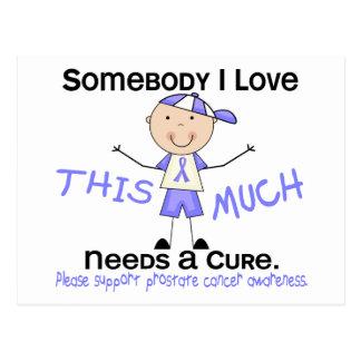 Somebody I Love - Prostate Cancer (Boy) Postcard