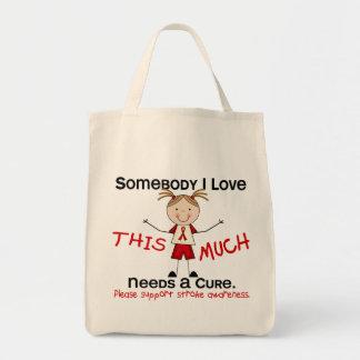 Somebody I Love - Stroke (Girl) Tote Bag