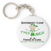 Somebody I Love - Tourettes Syndrome (Boy) Keychain