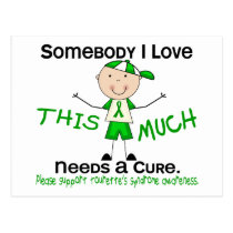Somebody I Love - Tourettes Syndrome (Boy) Postcard
