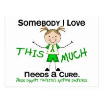 Somebody I Love - Tourettes Syndrome (Girl) Postcard