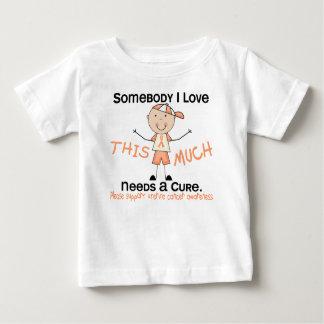 Somebody I Love - Uterine Cancer (Boy) Baby T-Shirt
