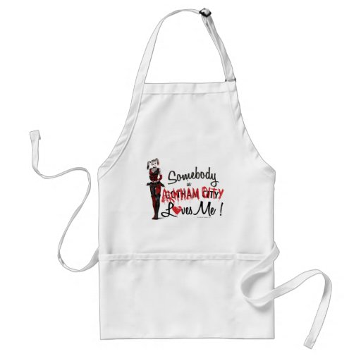 Somebody in AC Loves Me - Harley Adult Apron