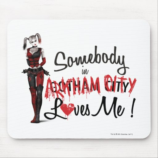 Somebody in AC Loves Me - Harley Mousepads
