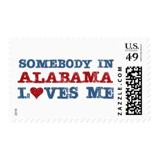 Somebody In Alabama Loves Me Postage