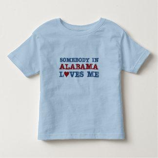 Somebody In Alabama Loves Me Toddler T-shirt