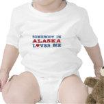 Somebody In Alaska Loves Me Rompers