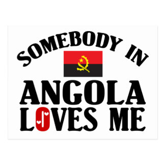 Somebody In Angola Postcard